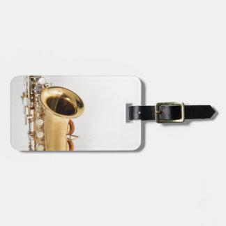 Soprano Saxophone Luggage Tag