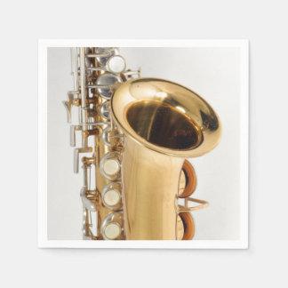 Soprano Saxophone Napkin Paper Napkin