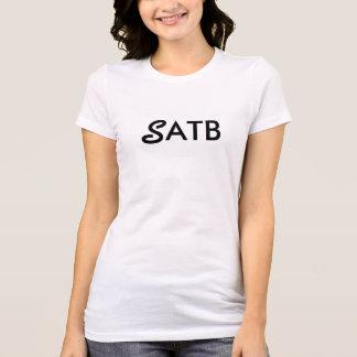 Soprano Singer Musical SATB shirt