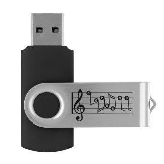 Soprano Singer Musical USB Drive