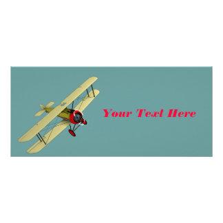 Sopwith Camel Biplane Custom Rack Cards