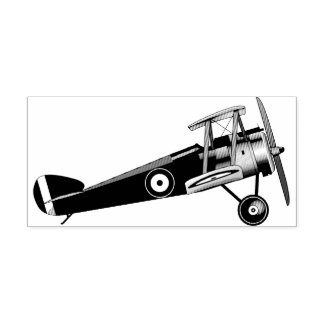 Sopwith Camel Rubber Stamp