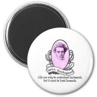 Søren Kierkegaard Refrigerator Magnets