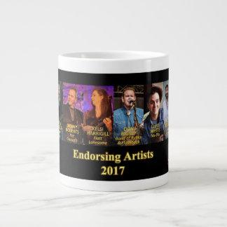 Sorensen Mandolins Endorsing Artists, Spring 2017 Large Coffee Mug