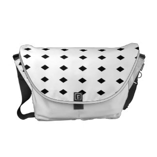 Sorobanshibori Japanese Pattern Messenger Bag