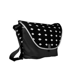 Sorobanshibori Japanese Pattern Messenger Bag B