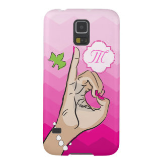 Sorority Life pink and green Cases For Galaxy S5