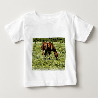Sorrel Horse Baby T-Shirt