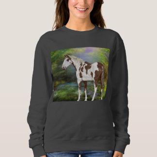 Sorrel Tovero Paint Horse Print Sweatshirt