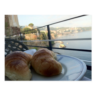 Sorrento Breakfast Postcard