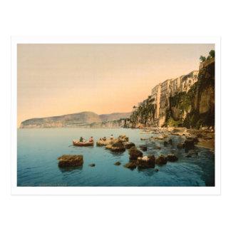 Sorrento by the Sea, Naples, Campania, Italy Postcard