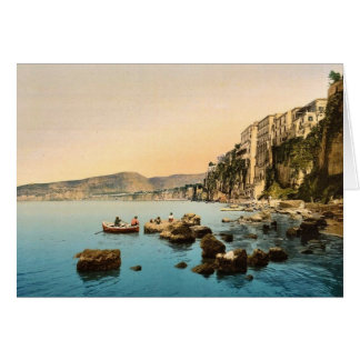 Sorrento by the sea, Naples, Italy classic Photoch Card