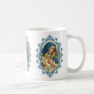 Sorrowful Immaculate Heart Virgin Mother Mary Coffee Mug