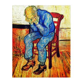 Sorrowing Old Man At Eternity's Gate Acrylic Wall Art