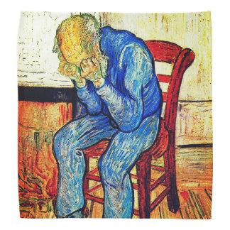 Sorrowing Old Man By Van Gogh Bandannas