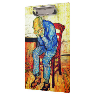 Sorrowing Old Man By Van Gogh Clipboard