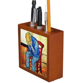 Sorrowing Old Man By Van Gogh Desk Organiser