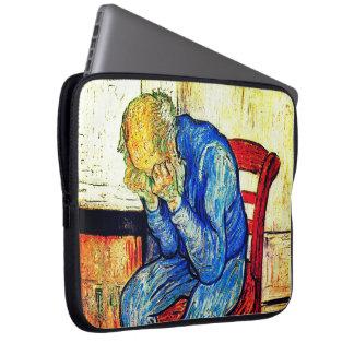 Sorrowing Old Man By Van Gogh Laptop Sleeve