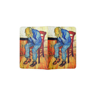Sorrowing Old Man By Van Gogh Passport Holder