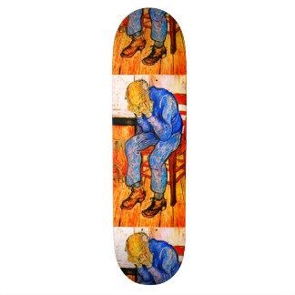 Sorrowing Old Man By Van Gogh Skateboard