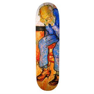 Sorrowing Old Man By Van Gogh Skateboard Deck