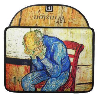 Sorrowing Old Man By Van Gogh Sleeve For MacBooks