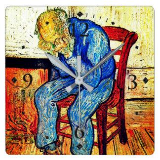 Sorrowing Old Man By Van Gogh Wallclock