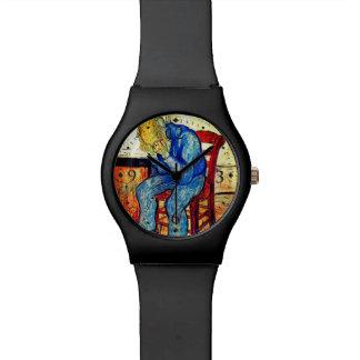 Sorrowing Old Man By Van Gogh Watch