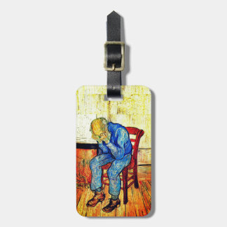 Sorrowing Old Man Van Gogh Luggage Tag