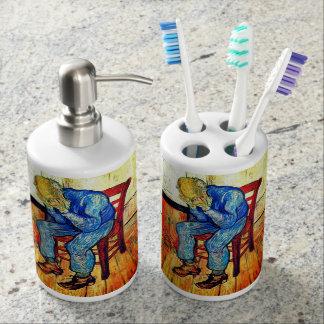 Sorrowing Old Man Van Gogh Toothbrush Holder