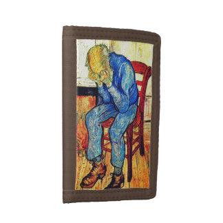 Sorrowing Old Man Van Gogh Tri-fold Wallets