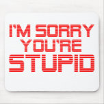 Sorry Cherry Mousepad