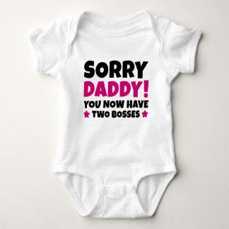 Sorry Daddy Baby Bodysuit