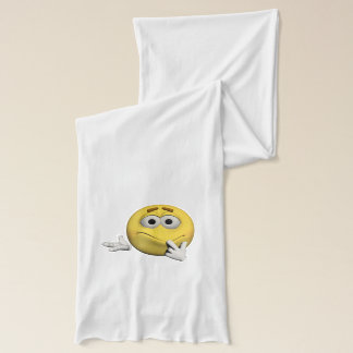 Sorry emoticon scarf