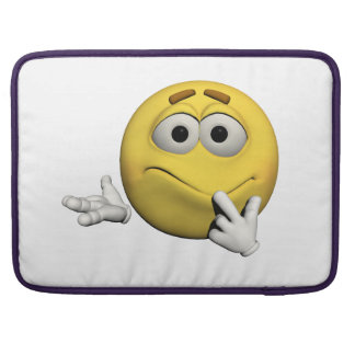Sorry emoticon sleeve for MacBooks