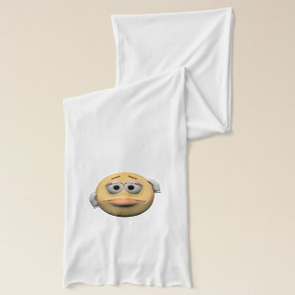 Sorry female emoticon scarf