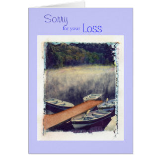 Sorry, for your, Loss Card