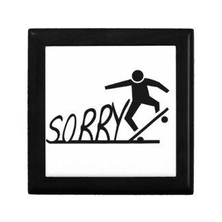 sorry gift box