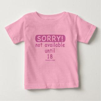 sorry/girl baby T-Shirt