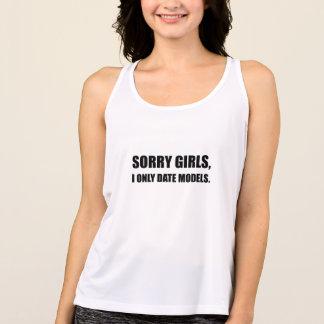 Sorry Girls Date Models Singlet