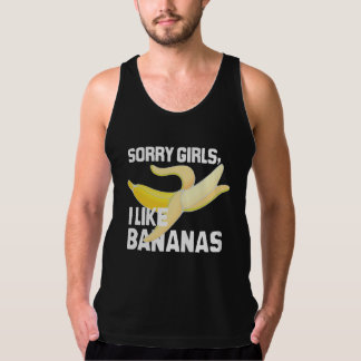 SORRY GIRLS I LIKE BANANAS - WHITE -.png Singlet