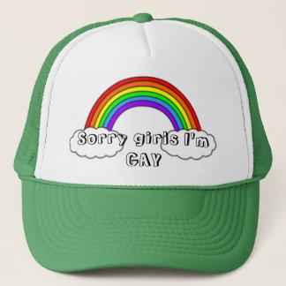 Sorry girls I'm GAY Trucker Hat