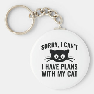 Sorry I Can't Key Ring