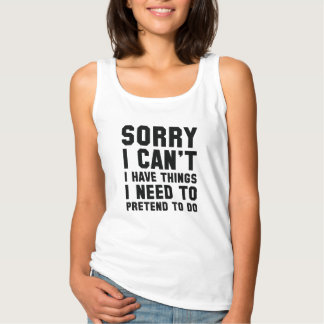 Sorry I Can't Singlet