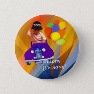 Sorry I forgot your birthday. 6 Cm Round Badge