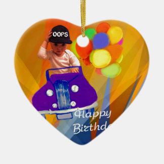 Sorry I forgot your birthday. Ceramic Ornament