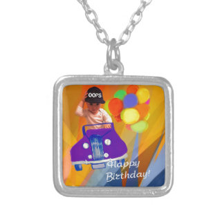 Sorry I forgot your birthday. Silver Plated Necklace