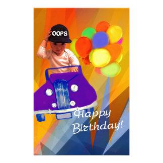 Sorry I forgot your birthday. Stationery