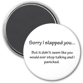 Sorry I Slapped You... Magnet