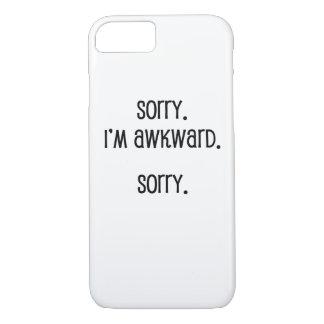Sorry I'm Awkward iPhone 8/7 Case